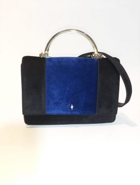 Borsa Pauls Boutique in velluto bicolor