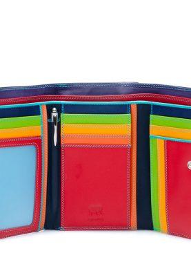 Mywalit Portafoglio Donna Multicolor con Zip Esterna