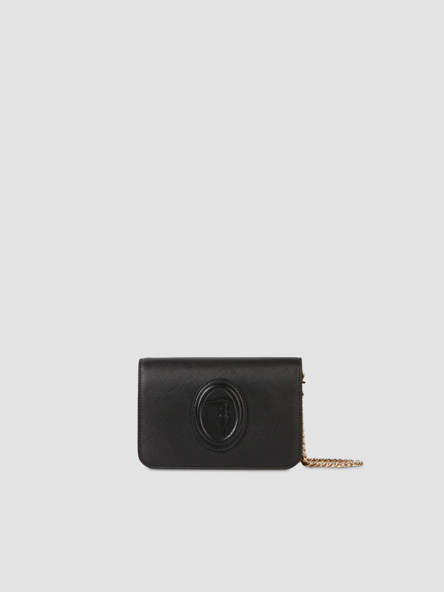 Faux saffiano leather 1 clutch TRUSSARDI JEANS 50 01 8051932438746 F
