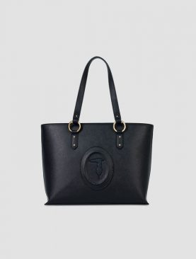 Trussardi Lisbona shopper md-smooth ecoleather