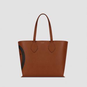 Medium faux saffiano leather shopper TRUSSARDI JEANS 50 01 8051932380885 F