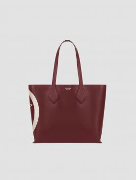 Trussardi Borsa Shopping media pelle saffiano
