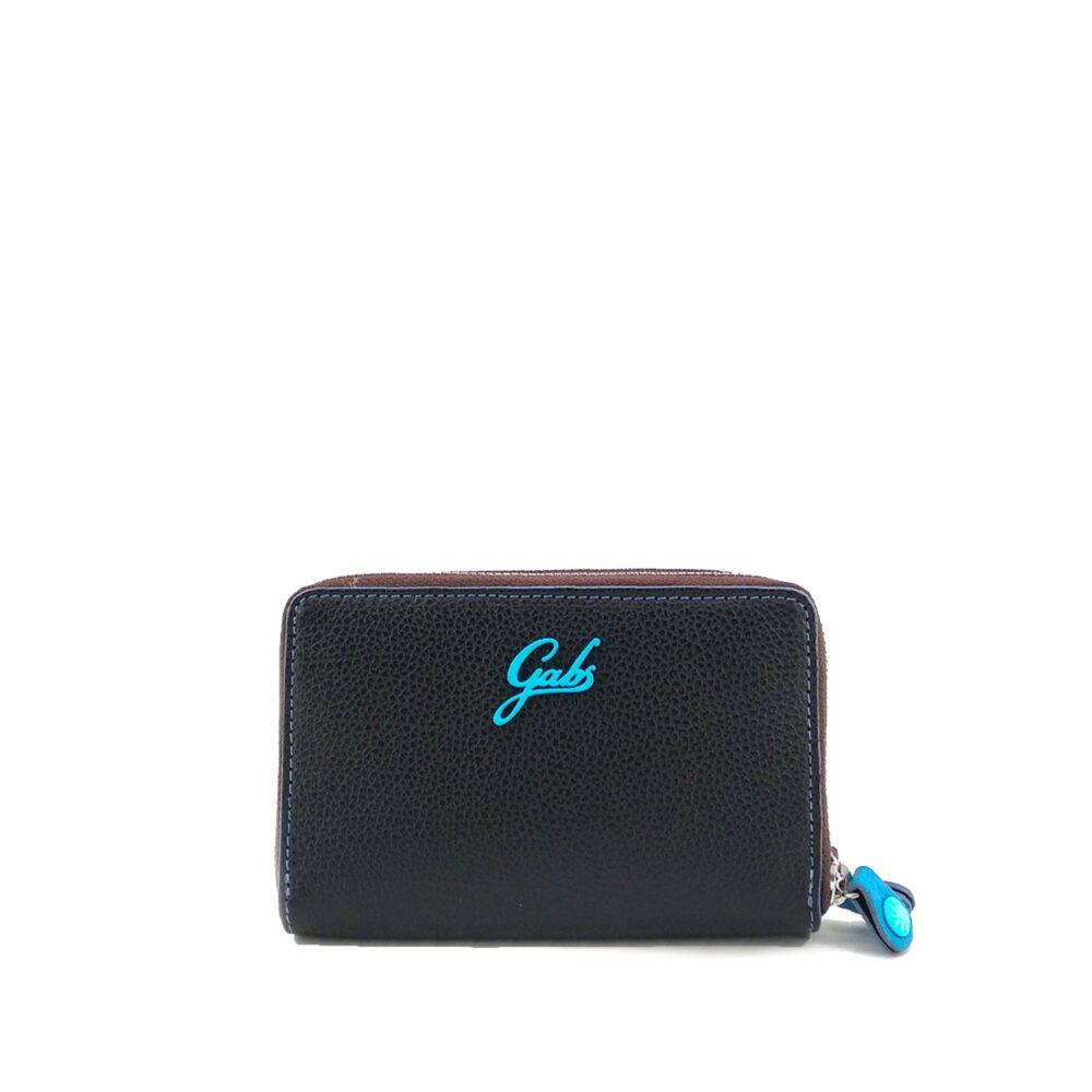 gabs portafoglio gmoney01 in pelle opaca nero tu G000160NDP0086C0001 01 conf 1