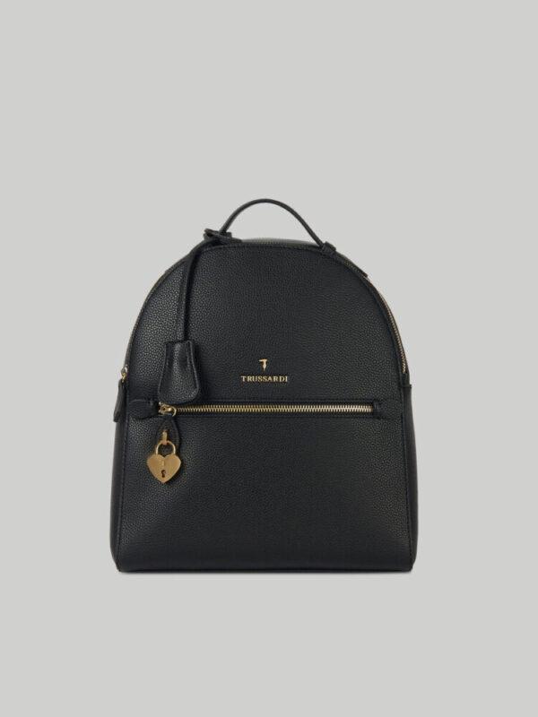 Lily backpack in faux deerskin TRUSSARDI JEANS 10 01 8051932553616 F2
