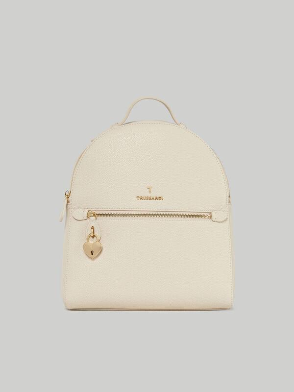 Lily backpack in faux deerskin TRUSSARDI JEANS 10 01 8051932908669 F