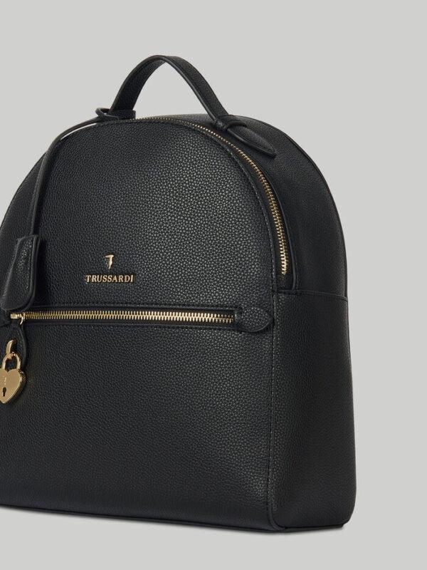Lily backpack in faux deerskin TRUSSARDI JEANS 10 02 8051932553616 SD1