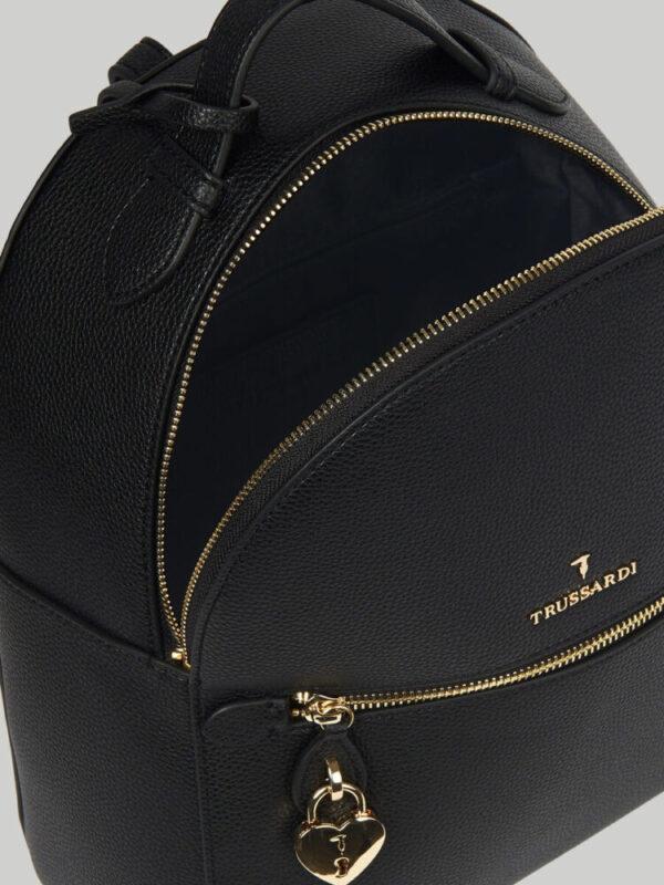Lily backpack in faux deerskin TRUSSARDI JEANS 10 04 8051932553616 D1