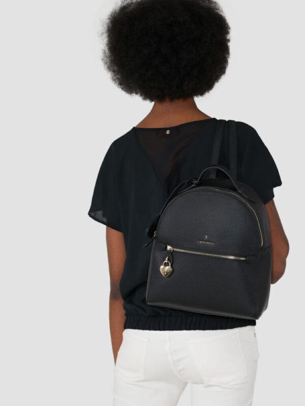 Lily backpack in faux deerskin TRUSSARDI JEANS 10 05 8051932553616 L1