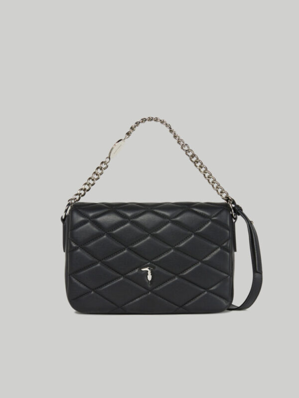Medium Daisy crossbody bag in quilted faux leather TRUSSARDI JEANS 10 01 8051932901370 F