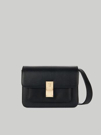 Medium faux leather Lione crossbody bag TRUSSARDI JEANS 10 01 8051932586812 F