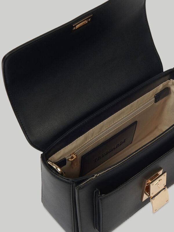 Medium faux leather Lione crossbody bag TRUSSARDI JEANS 10 04 8051932586812 D