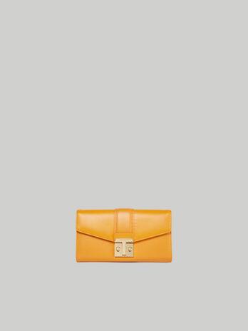 Plain Tulip continental purse TRUSSARDI JEANS 10 01 8051932575946 F