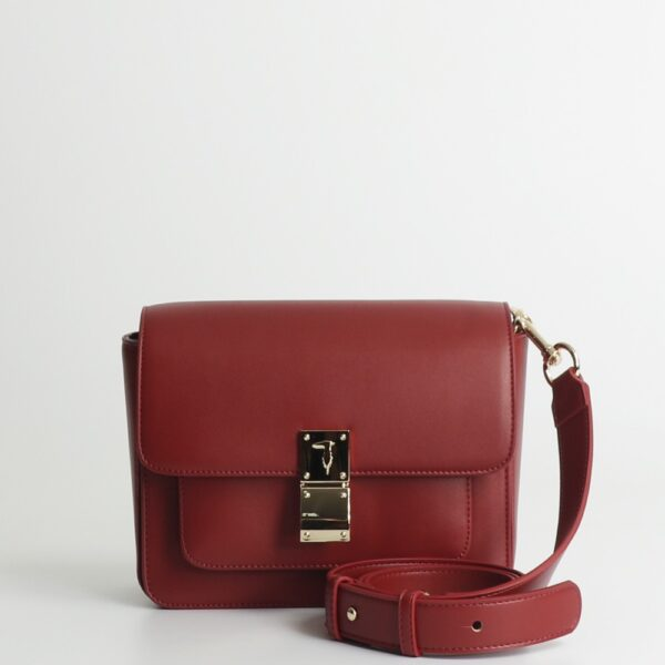 trussardi jeans 75b00952 beet red front