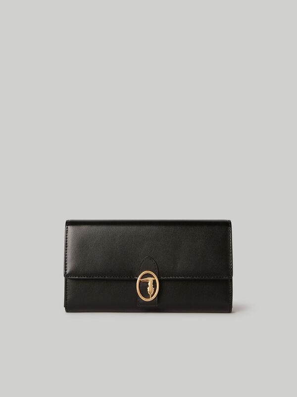 Large Grace continental purse TRUSSARDI JEANS 50 01 8055720109757 F 1