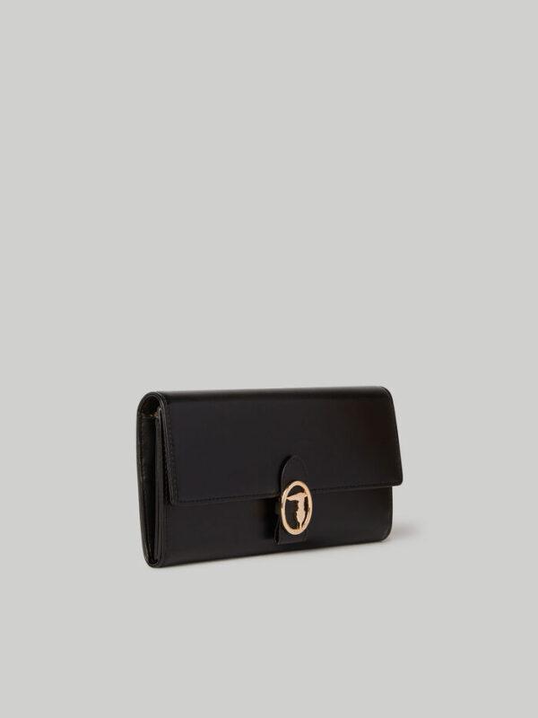 Large Grace continental purse TRUSSARDI JEANS 50 02 8055720109757 SD