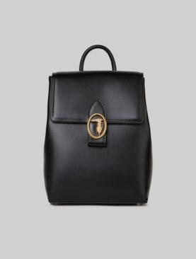 Borsa Trussardi modello Grace Backpack MD Smooth PU Black